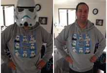Cable Brandon and his new HelloGreedo hoodie!