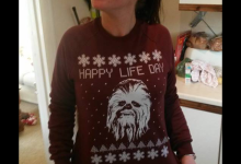 Andy Hobb's Girlfriend's New Christmas Sweater!